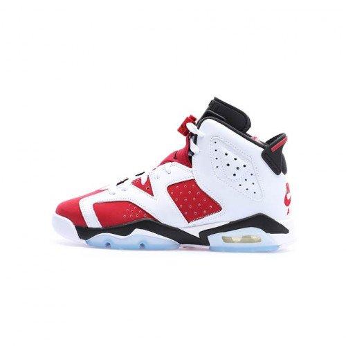 """Nike Jordan Air Jordan 6 Retro (GS) """"Carmine"""" (384665-106) [1]"""