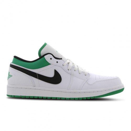 Nike Jordan Air Jordan 1 Low ''Lucky Green'' (553558-129) [1]